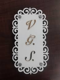 Small Picture Designer Name Plate makers in thane west Sanghvi arts call us now