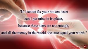 Quotes Of A Broken Heart Impressive New Realistic Love Quotes If I Cannot Fix Your Broken Heart Can I