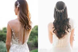 wear your hair down on your wedding day