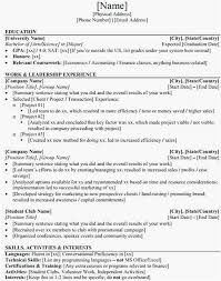 Investment Banking Resume Template 12793 Acmtyc Org