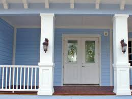 a beautiful front porch