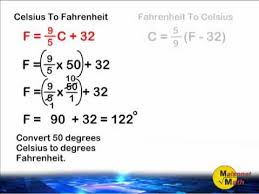 Celsius To Fahrenheit Charts Delectable Fahrenheit And Celsius Conversion YouTube