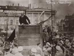 Октябрьская революция года Хроника событий Справка  Ленин на митинге