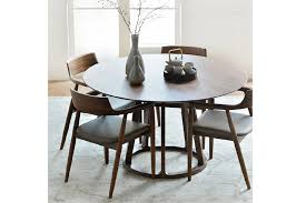 vittoria solid american walnut dining table from prestige affairs