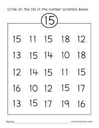 Free Kindergarten Worksheets Tracing Numbers Printable Ordinal ...