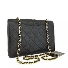 CHANEL - Chanel Quilted Matelasse CC Lambskin Chain Bag from ... & Chanel Quilted Matelasse CC Lambskin Chain Bag Adamdwight.com