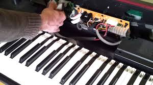 fixing the keys on a digital piano where some or all keys are not Wiring Schematic Symbols and Meanings at Electic Piano Wiring Schematic Legend