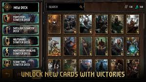 gwent the witcher card game arrives on