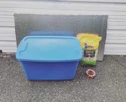 you can get everything you need for a feral cat shelter at home depot in fact you need so few supplies you can carry them home all by yourself on the