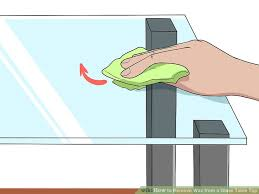image titled remove wax from a glass table top step 2