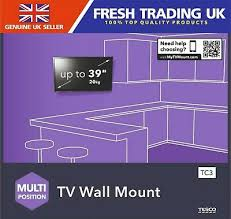 avf tesco multi position tv wall mount