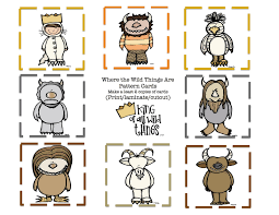 Preschool Printables Where The Wild Thing
