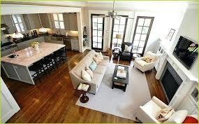 Decorating Ideas For Open Floor Plans Ergonomic Rectangular Plan ...