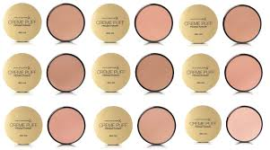 Max Factor Creme Puff Colour Chart Details About Max Factor Creme Puff Pressed Compact Powder 21 G Choose Your Shade