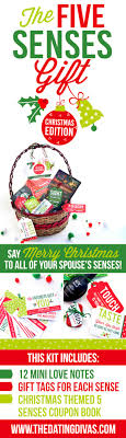 give a gift to each of your sweetie s 5 senses