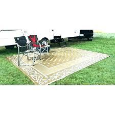 camper patio mat