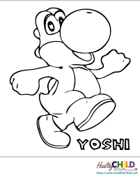 Mario Color Page Coloring Pages Benefits For Kids Free Mario