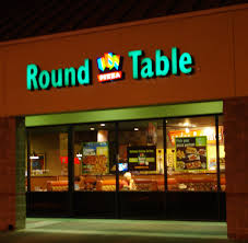 round table pizza corporate office intended for 20 home desk furniture decor 6