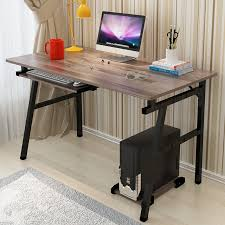 Simple office table Iron Fashion Office Desktop Home Computer Pc Desk Simple Modern Laptop Desk Study Learin Writing Office Table Commerical Furniture Shenzhen Wangfu Mj Furniture Factory Fashion Office Desktop Home Computer Pc Desk Simple Modern Laptop