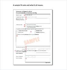 Simple Note Doctor Fake For Work Free Printable Doctors Notes