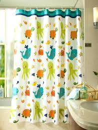 cool shower curtains for kids. Fine Shower Boys Bathroom Shower Curtain Kid Kids  Fabric Fish Tortoise By   And Cool Shower Curtains For Kids U