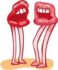 kiss lips lip kiss clip art free vector