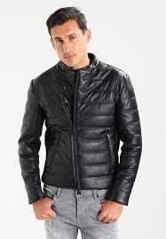 armani exchange er jackets black 6753v
