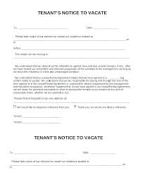 Eviction Letter Template Uk Interesting Landlord Move Out Notice Template Day To Vacate Letter Tenant Ending