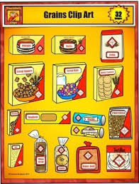 grains food group clipart. Beautiful Clipart Breads And Grains Food Group Grocery Clip Art By Charl For Clipart I