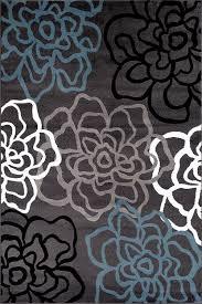 modern carpet pattern. amazon.com: rugshop contemporary modern floral flowers area rug, 5\u0027 3\ carpet pattern