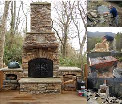 how to build an outdoor fireplace like a pro outside fireplacebackyard fireplacefireplace stonediy