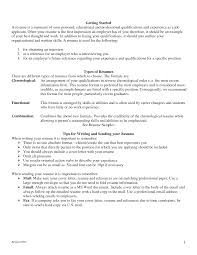 Resumes Sample Resume For An Entry Level Computer Programmer Monster