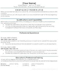 Examples Of Nurse Resumes Nursing Resume Samples Clinic