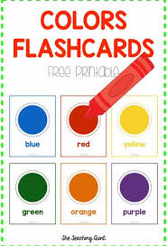 Here you'll find our favorite flash cards your preschooler is sure to love. Colors Flashcards Free Printable The Teaching Aunt