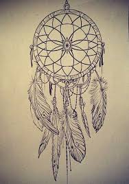 Sketch Of Dream Catcher