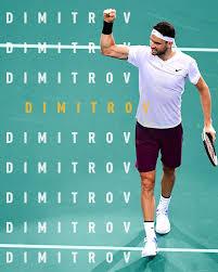 Grigor dimitrov during david goffin's match against diego schwartzman. Headlines