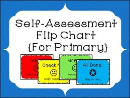 Primary Flip Charts Self Assessment Flipchart For Primary Grades