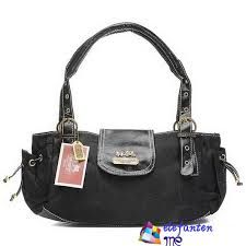 Coach Logo Signature Small Totes Black