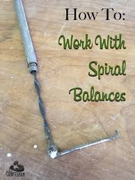 Simple Balances How To Work With Spiral Balances The Craftsman Blog