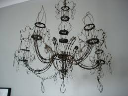 chandeliers en wire chandelier diy