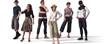 Outfit Creator With Your Own Clothes Street Fashion Cloth Base Marvelous Designer Select Series