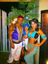 Disney Costume Ideas Princess Jasmine And Aladdin Family Couple Disney Costume