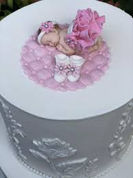 Baby Shower Cake Topper Fondant Baby Shower Decorations Edible