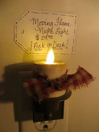 Flameless Candle Plug In Night Light Flameless Candle Plug In Night Light Available In Plain