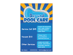pool service flyers. Flyer Design By Krumov For Beyond Pool Care | #3277278 Pool Service Flyers