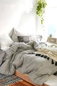 nights comforter set queen 6 piece in white grey boho bedding glamorous pleasing 9