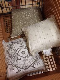 beautiful nicole miller and calvin klein pillows found at home goods