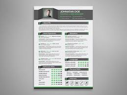 Creative Resume Cv Cover Letter Portfolio Psd Template Landisher