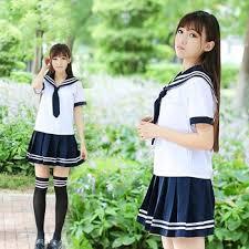 School uniform set Student tie Sailor suit Table costume JK ...