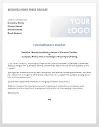 Business Press Release Template Free Press Release Templates Smartsheet
